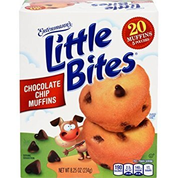 - Entenmann's Little Bites 5 ct Chocolate Chip Muffins 8.25 oz (Pack of 3)
