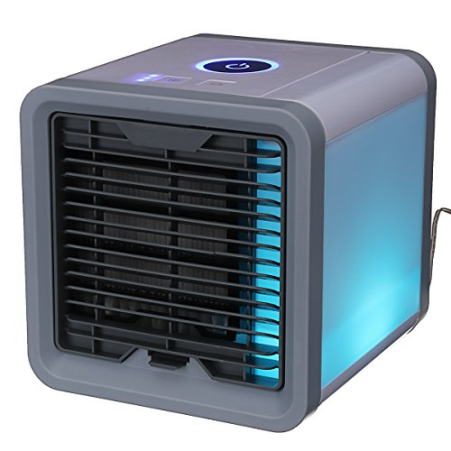KISENG 8W 12V USB Mini Summer Arctic Space Cooler Air Cooling Equipment Air Conditioner Home Office LED ()