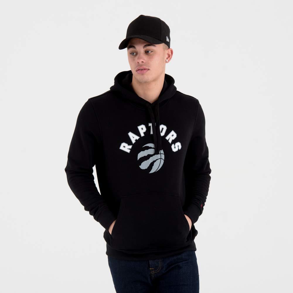 New Era Mens Toronto Raptors Hooded Pullover