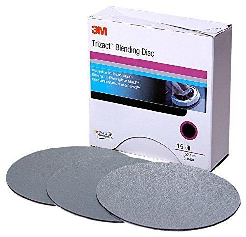 3M 02091 Trizact Hookit 3'' P1000 Grit Blending Disc