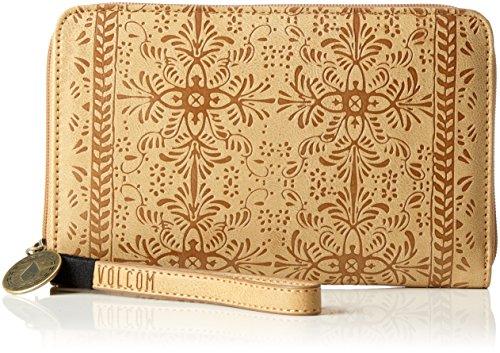 - Volcom Dezert Mist Zip, Women's Wallet, Braun (Vintage Brown), 3x13x20 cm (B x H T)