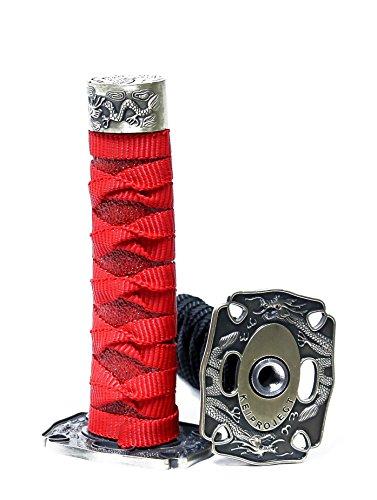 Kei Project Katana Samurai Sword Shift Knob Shifter Katana VIP Metal Weighted With Adapters Fits Most Cars (Black)