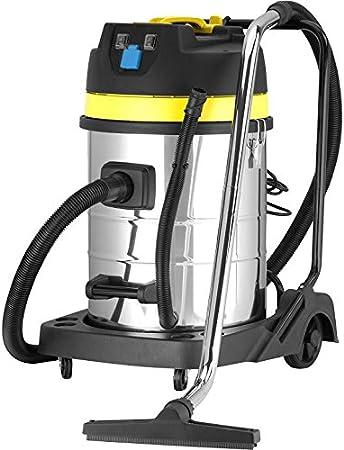 Syntrox Germany - Aspiradora Industrial (2600 W, 100 L, con Enchufe, Acero Inoxidable): Amazon.es: Hogar
