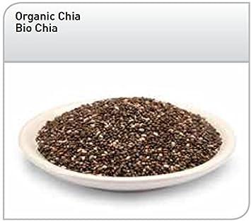Hanoju - Semillas de Chia negro Bio - salvia hispanica L. - 1 Kilo ...