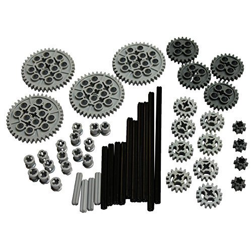 LEGO Parts and Pieces: Technic Gear and Axle Pack by LEGO (Legos Parts)