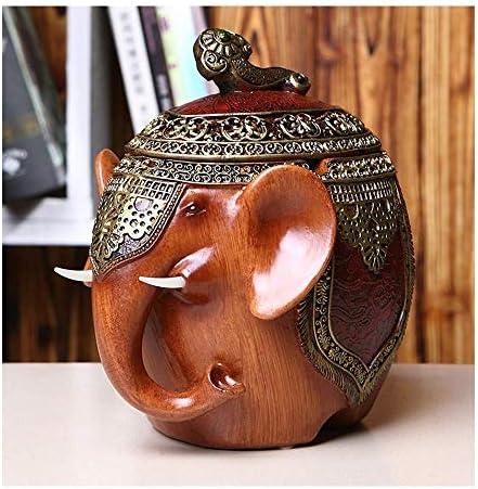 SRX 蓋の装飾品で実用的な家庭の毎日の必需品ギフト象の装飾中国のパーソナリティのファッションクリエイティブ大型灰皿