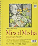 Strathmore 362900 90-Pound 40-Sheet Mixed Media Vellum Paper Pad, 9 by 12-Inch
