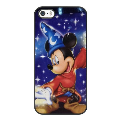 Coque,Coque iphone 5 5S SE Case Coque, Mickey Mouse Cover For Coque iphone 5 5S SE Cell Phone Case Cover Noir