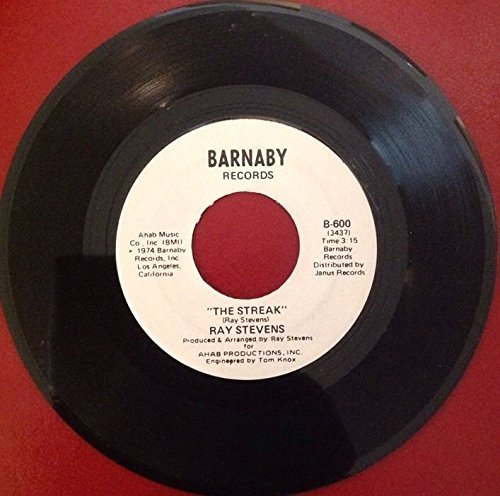 Price comparison product image RAY STEVENS The Streak b/w You've Got The Music Inside 45 RPM B 600 Jukebox