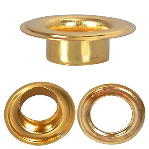 3/8'' #2 Brass Grommets and Washers 1000 Package II