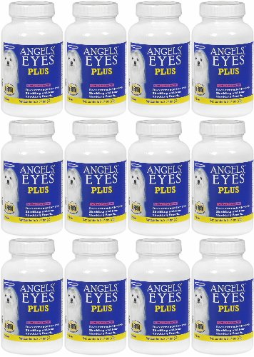 Angels' Eyes PLUS Dog Tear Stain Remover, Chicken 900g (12 x 75g) by Angel's Eyes