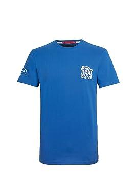 Front Up Rugby Hombres del Dolor es Temporal Camiseta, Hombre, Pain is Temporary, Z77 Light Blue, Mediano: Amazon.es: Deportes y aire libre