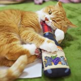Wine Cat Toys, Japanese Silvervine Cat Toys, Handmade Cat Toys, Cat Gifts, Best Toys For Cats, Japanese Catnip Toys, Gifts for Cat Lovers