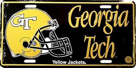 Georgia Tech América sports [casco] chaquetas amarillas ...