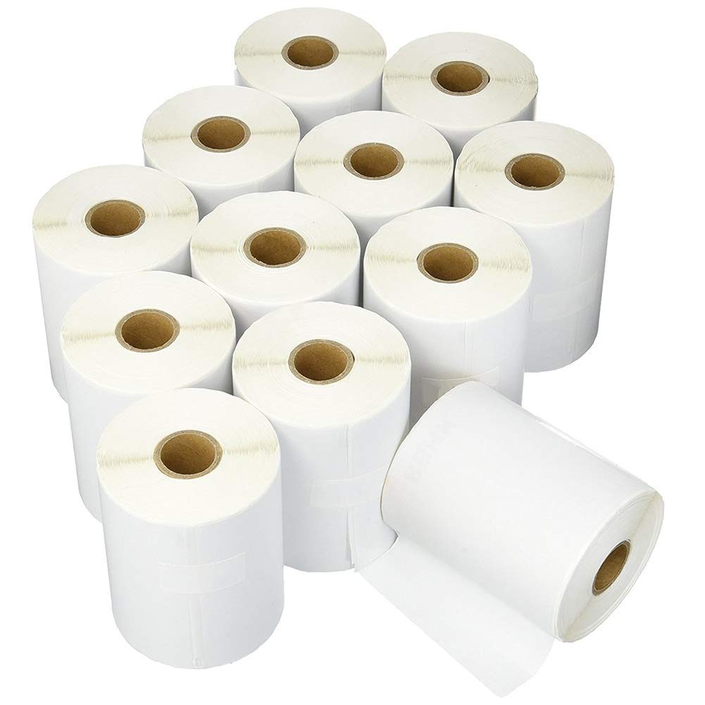 RBHK Dymo 1744907 4''x6'' Shipping Labels Compatible 4XL (12 Rolls)