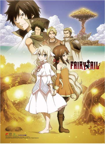 Fairy Tail Wall Scroll Zero Wall Art Licensed ge86868