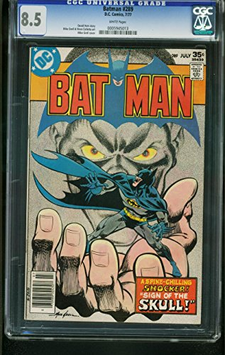 BATMAN #289 1977-CGC GRADED 8.5 WHITE PAGES-MIKE GRELL COVER (1977 Dc Comic Book)