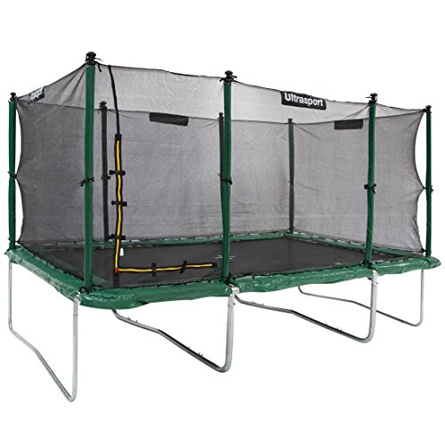 Ultrasport Premium Gartentrampolin Jumper 305 x 457 cm inkl. Sicherheitsnetz