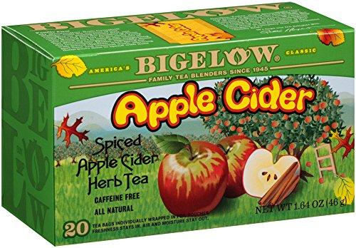 Bigelow Apple Cider Herbal Tea, 1.64 oz, 20-Count Boxes (Pack of (Bigelow Herb)