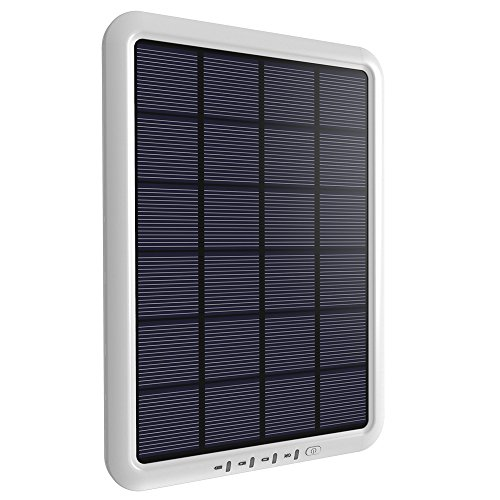 Yingli Portable Solar Charger  Handheld Solar Power Bank  Built In 10000Mah Lithium Battery And 2 7W 6V High Efficiency Solar Panel  2 Usb Ports