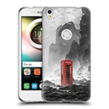 Official Daniel Conway Phonebooth Surreal Scenery Soft Gel Case for Alcatel A7