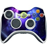 Sticker Skin Print Space Orbit Colored Cosmic Vaper Smoke Waves Printed Design Xbox 360 Wireless Controller Vinyl Decal Sticker Skin by Smarter Designs