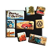 Volkswagen VW Bus & Beetle set of 9 Mini Fridge