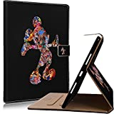 iPad Pro 10.5 Inch Case, Onelee - Mickey Mouse Slim Premium PU Leather Smart Stand Case Back Protector for iPad Pro 10.5 inch