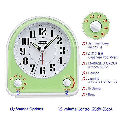 Buy battery alarm clock for heavy sleepers
