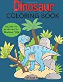 img - for Dinosaur Coloring Book: Includes Fun and Interesting Dinosaur Facts (Dinosaur Books) book / textbook / text book