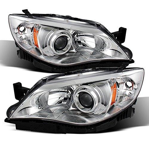 ACANII - For 2008-2011 Subaru Impreza WRX STi Outback Sport Headlights Lamps 08-11 Driver + Passenger Side