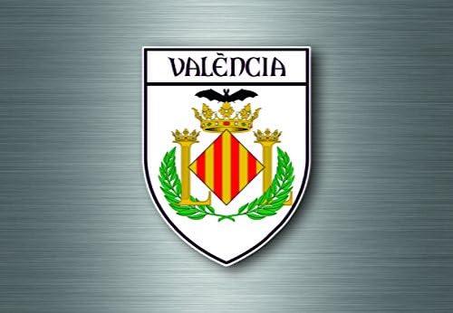 Adhesivo de recuerdo coche escudo de armas escudo ciudad bandera ...