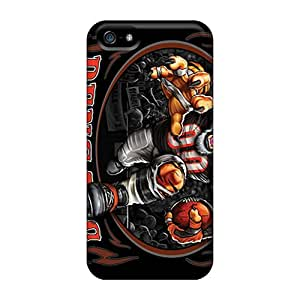 High Quality Mobile Cases For Apple Iphone 5/5s With Allow Personal Design High-definition Cincinnati Bengals Pictures JamieBratt