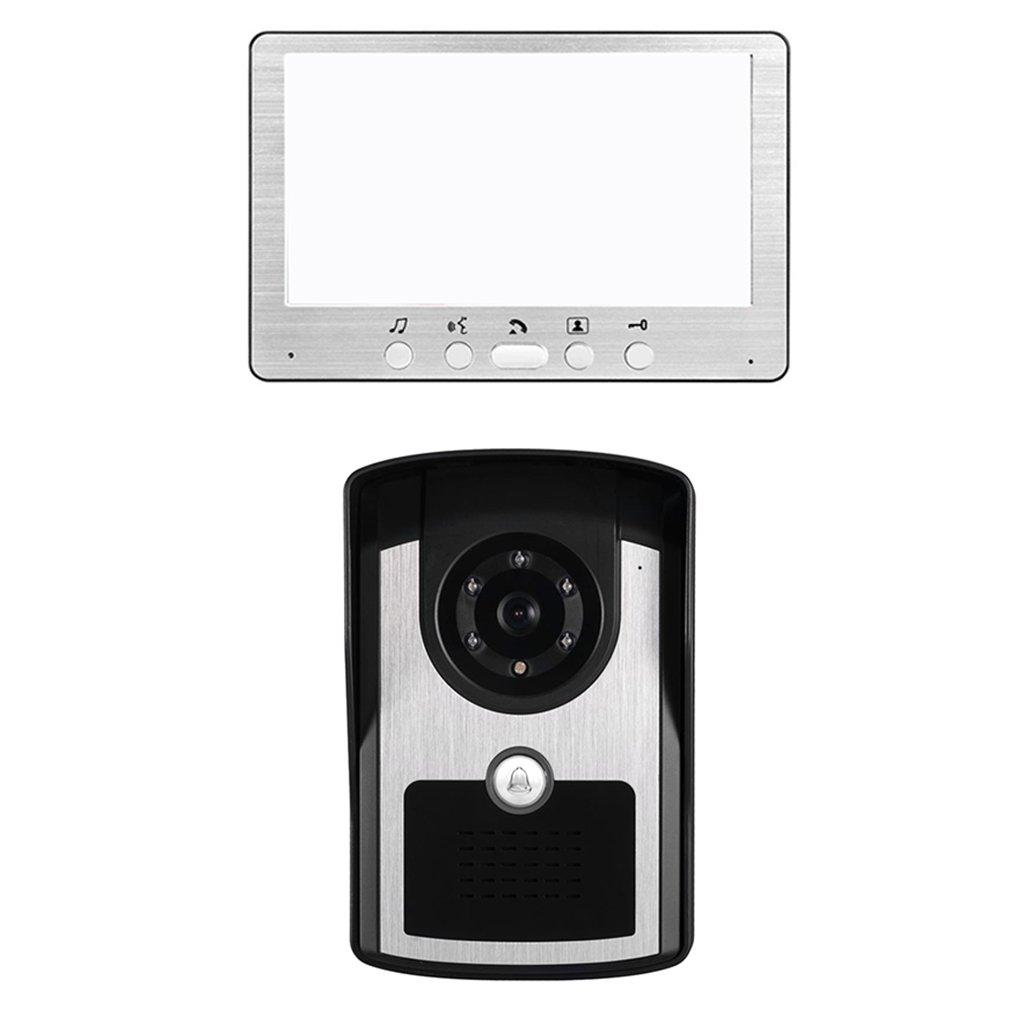 SONONIA 7インチ LCD 液晶 ビデオドア 電話ドアベル ホーム インターホン システム IRカメラ 1 - モニター B076WWV8GB