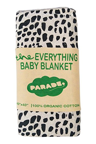 Parade Organics 'Everything' Baby Blanket Black Brushes