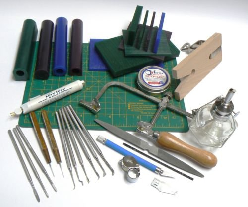 WAX WORKING MODEL MAKING WAX CARVING JEWELRY WORK KIT (LZ 5.13 M - Making Wax Jewelry