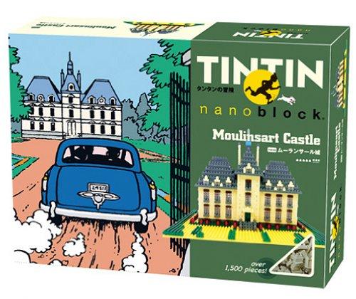 Nanoblock - Tintin - Moulinsart Castle - 1500pcs Set by Kawada