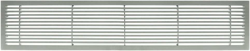 Architectural Grille 200043001 Ag20 Series 4 X 30 Solid Aluminum Fixed Bar Supply Return Air Vent Grille Brushed Satin Amazon Com