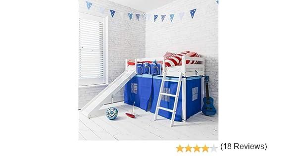 Noa & Nani - cama nido infantil Ontario con tobogán en distintos ...