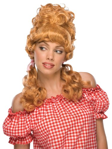 Rubie's Costume Maryanne Blond Wig, Yellow, One Size - Hillbilly Costumes