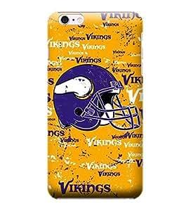 iPhone 6 Plus Case, NFL - Minnesota Vikings - Blast - iPhone 6 Plus Case - High Quality PC Case