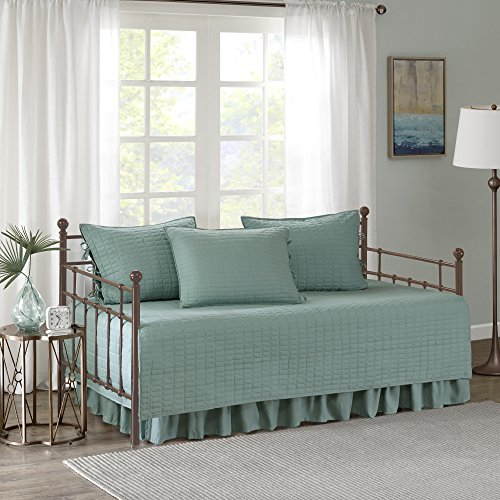 Comfort Spaces Kienna Daybed Set - Stitched Quilt Pattern -