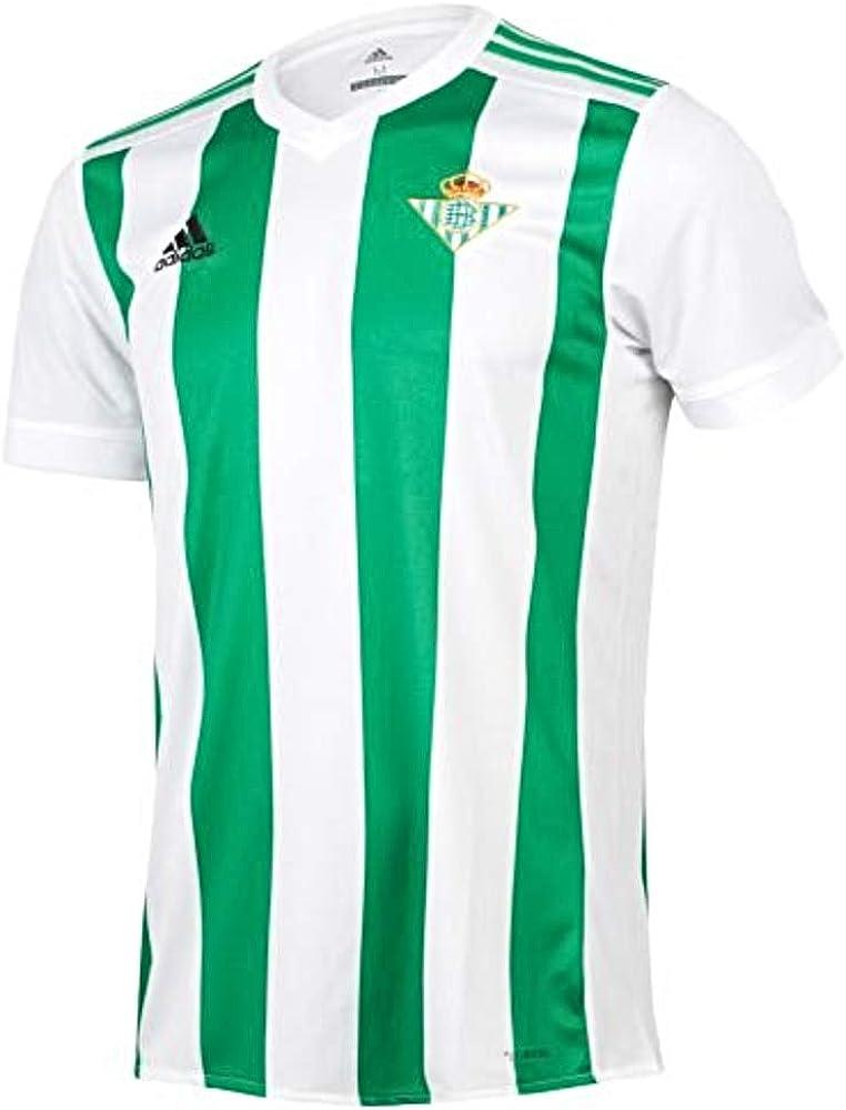 adidas H JSY Camiseta 1ª Equipación Betis 2017-2018, Hombre ...