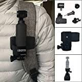 Best Accessory for DJI OSMO Pocket!!!Natarura Multi-Function Expansion 1/4 Screw Adapter Bracket + Clip for DJI Osmo Pocket