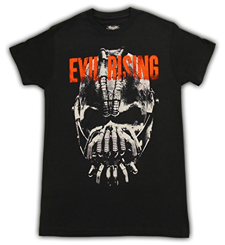 Batman+Retro+Shirts Products : Batman The Dark Knight Evil Rising Bane Black Mens T-Shirt