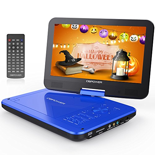Buy Cheap DBPOWER 10.5 Portable DVD Player with Rechargeable Battery, Swivel Screen, SD Card Slot a...