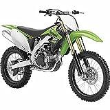 (US) 2012 Kawasaki KX450F Dirtbike, Green - New Ray 49403 - 1/6 Scale Motocross Motorcycle