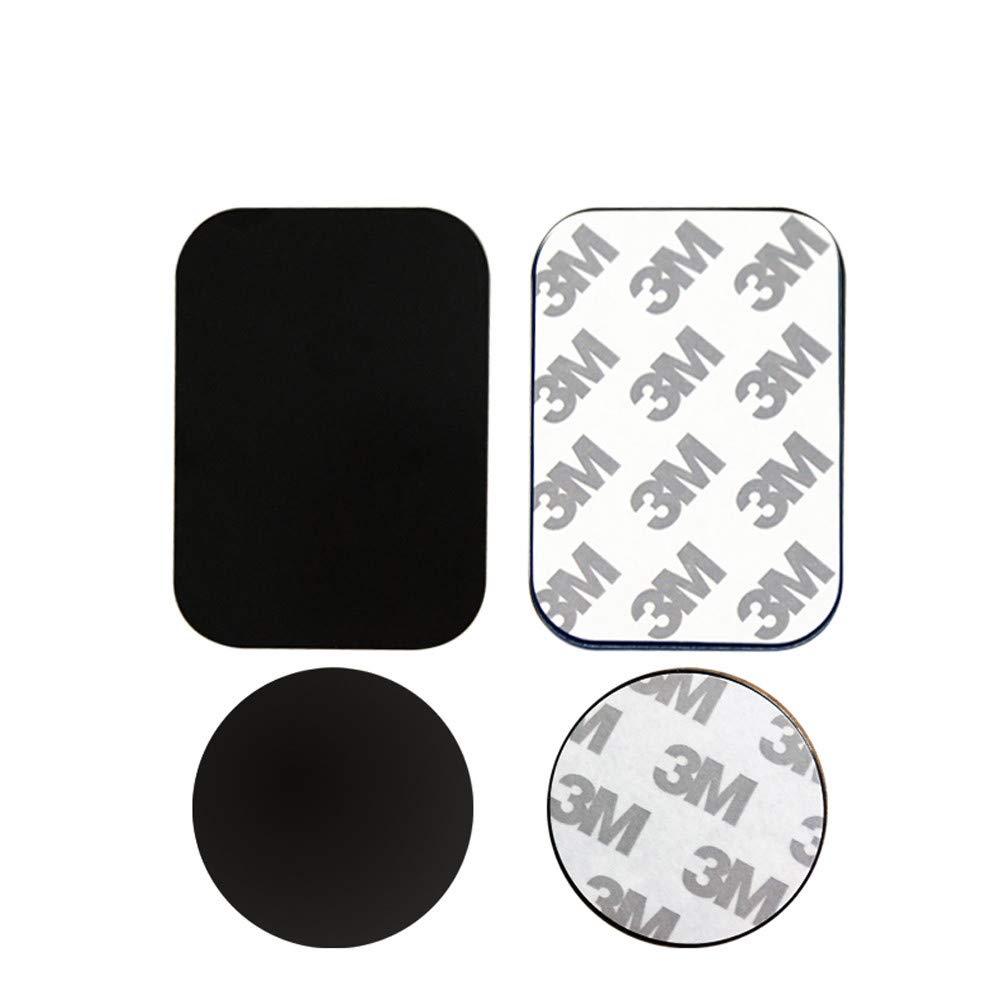 jgashf Sticker per Auto Adesivo delle Piastre di Metallo Sostituisca per Il Supporto Magnetico del Telefono del Supporto dellautomobile,Decal Adesivoi Adesivoa 4