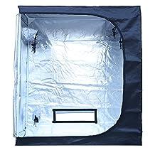 "MEIZHI 24""x48""x60"" Reflective Waterproof Grow Tent Green Room Garden Hydroponics Box Mylar Silver for seeding"