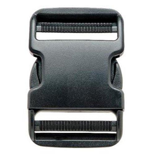 Prym - Fibbia a scatto, in plastica, dimensione: 50 mm, colore: Nero PRYM_416380-1